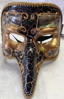 Roman Zanni Masquerade Mask