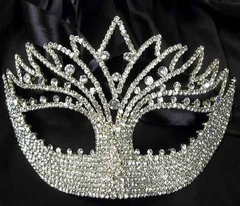 Crystal Masquerade Mask Czechoslovakia Style MCC
