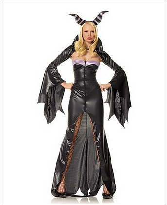 3 Piece Demon Witch Avenue Mary Lou Adult Costume Large