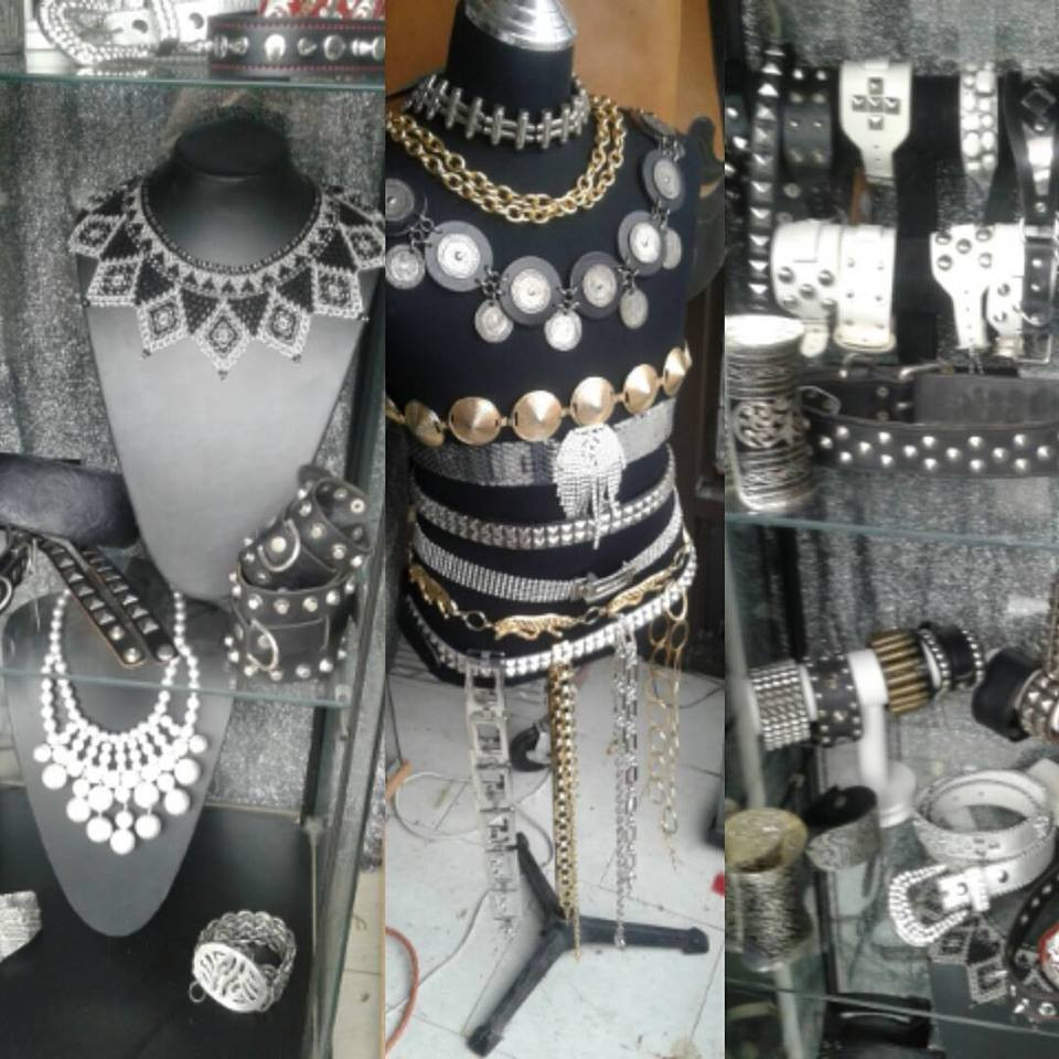 Fetish, Gothic and warrior style jewellery and accessories great for festivals!