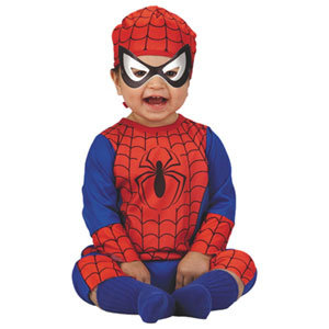 License Marvel Spiderman & Friends Spider-Man Children's Infant  Costume 12M-18M