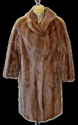 Vintage Fur Salon Eaton's Caramel Mink Fur Coat