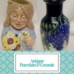 Antique Porcelain & Ceramic
