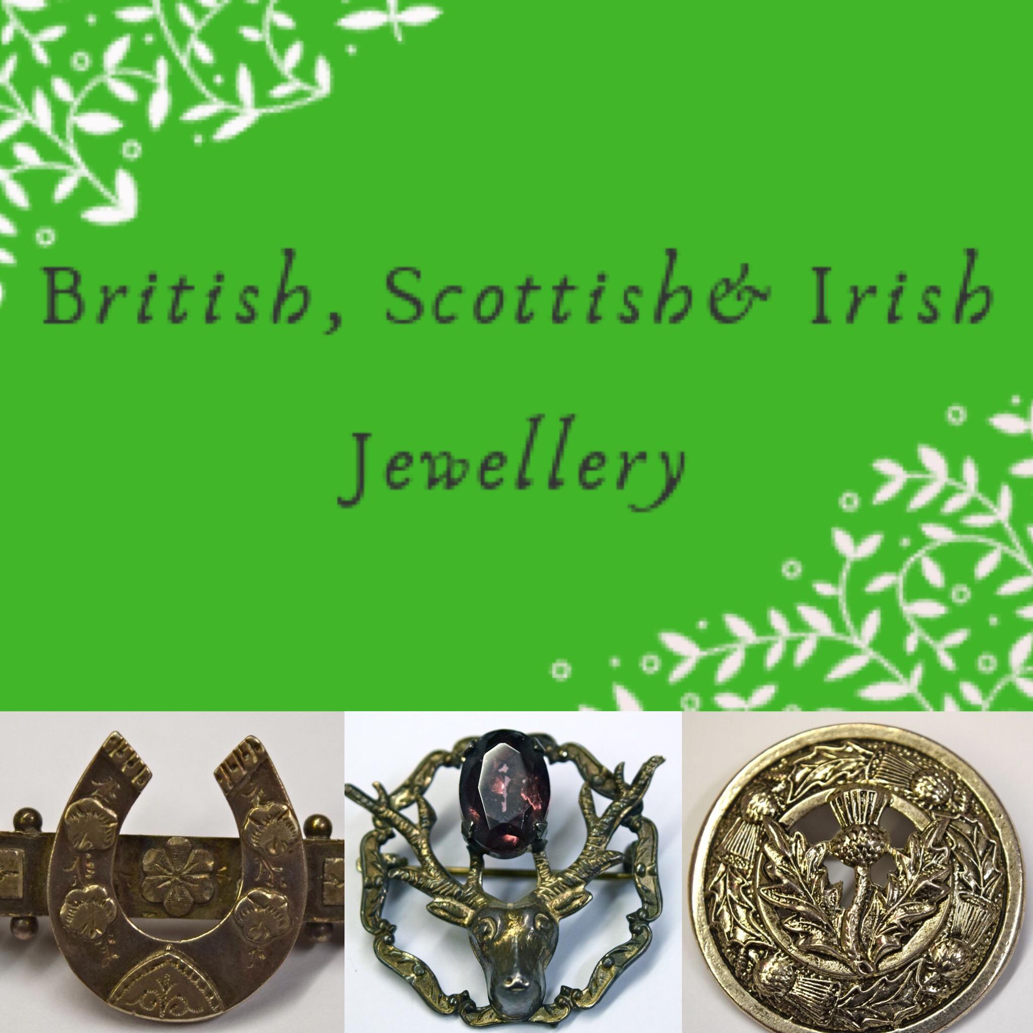 British, Scottish & Irish Jewellery