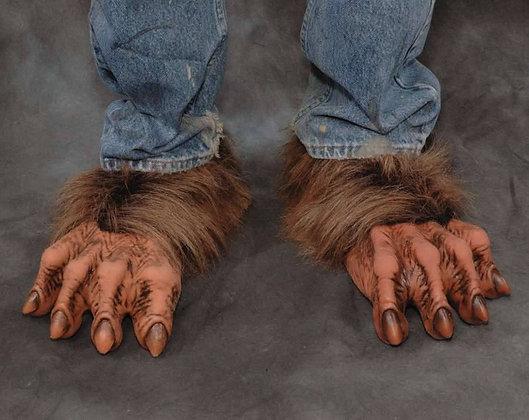 Deluxe Halloween Werewolf Feet