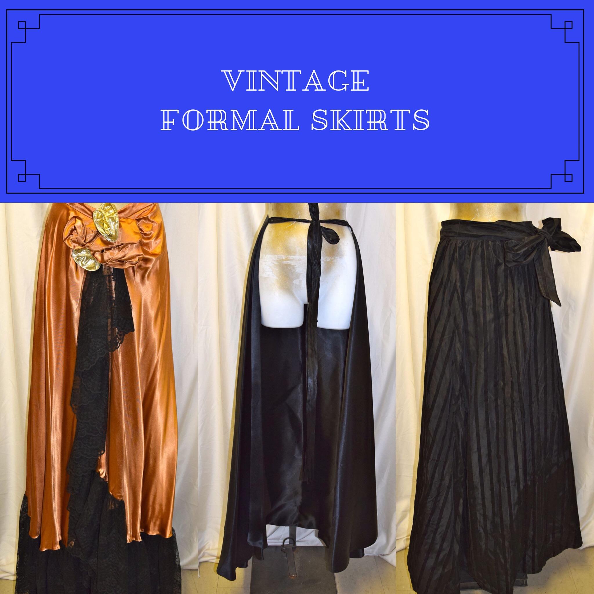 Vintage & New Skirts