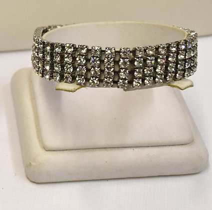 Vintage Costume Rhinestone Bracelet