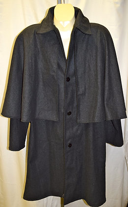 Deluxe Dark Shadow Jacket with Cape
