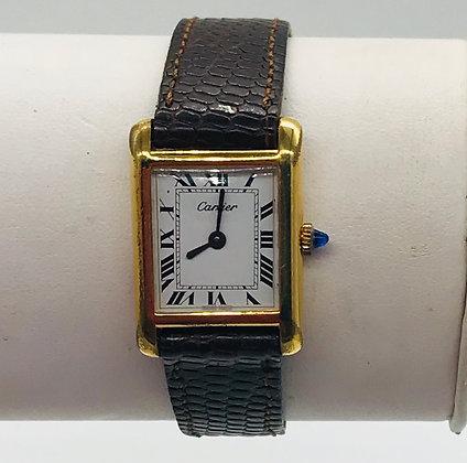 Vintage Cartier Lady's 18k Swiss Watch