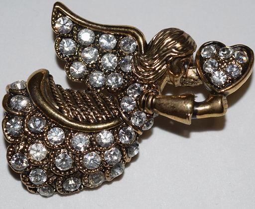 Angel Brooch Pin
