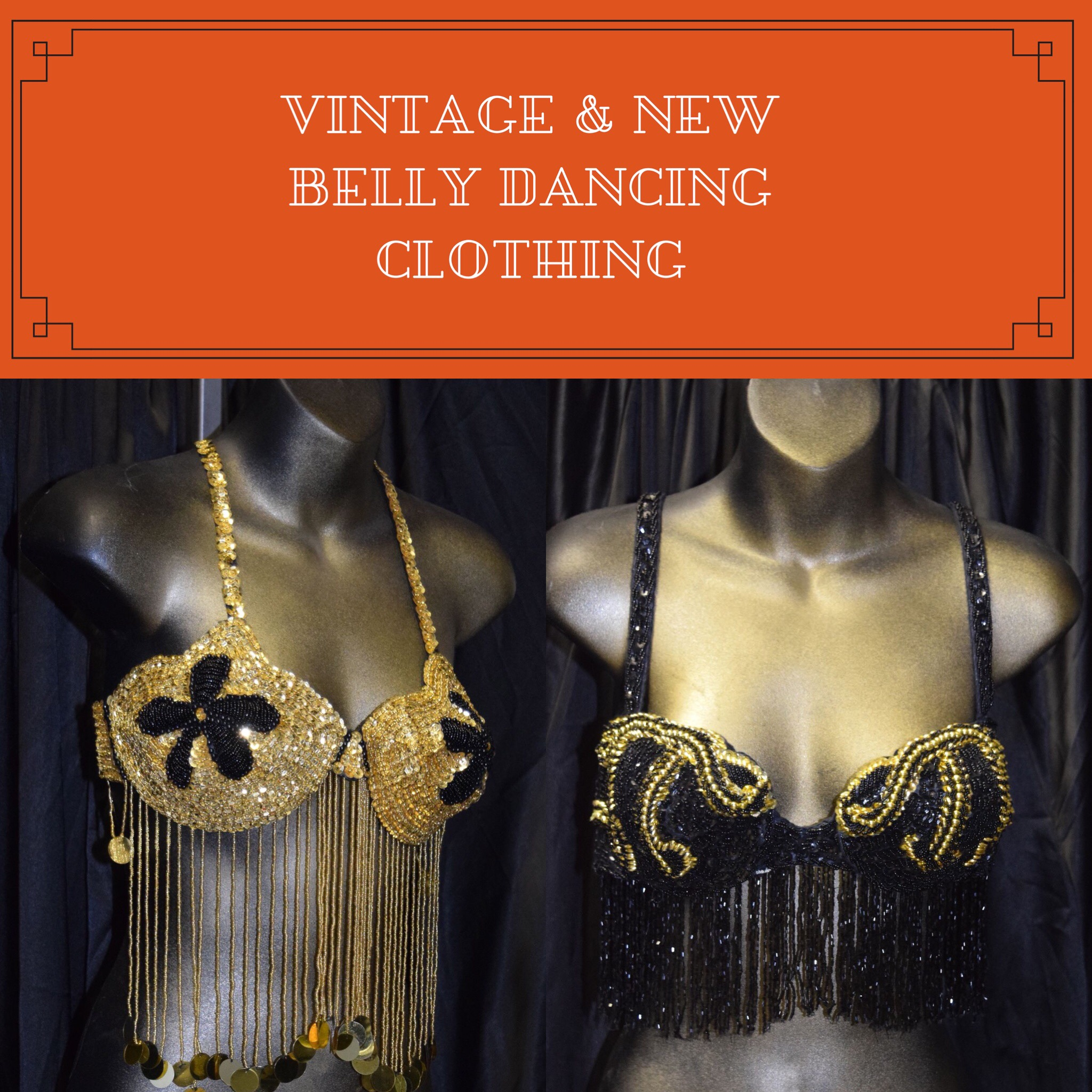 Vintage Belly Dancing Clothing