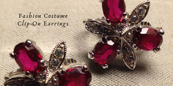Fashion Costume Clip-On Earrings
