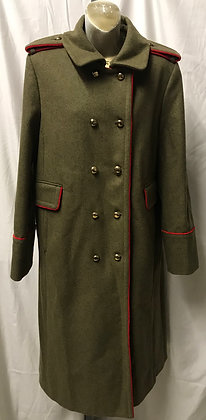 Vintage Marc by Marc Jacobs Military Style Wool Coat