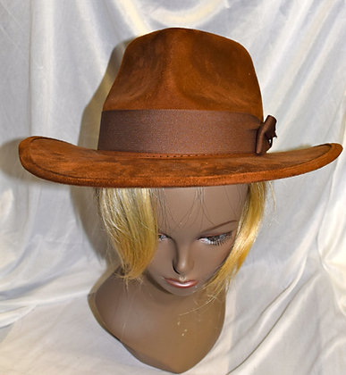 Brown Licensed Doctor Who Theatrical Hat