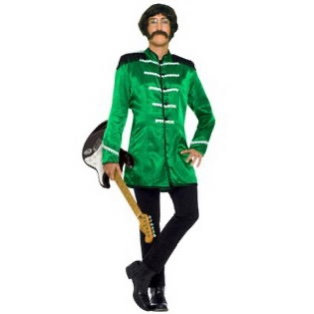 British Explosion Green Jacket Adult Costume