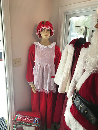 Mrs. Claus Classic Standard Size - Fits up to size 14