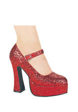 Red Sparkle Shoes Size 12 & 14
