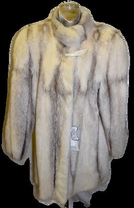 Vintage Blonde Mink Fur Jacket Size Large