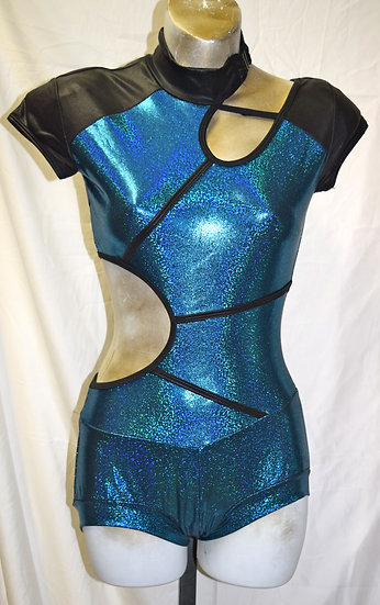Adult Vintage Dancewear Body Suit Small