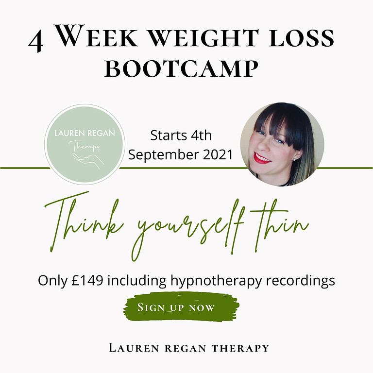 4 Week Weight Loss Bootcamp!