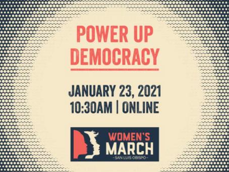 Women's March 2021!