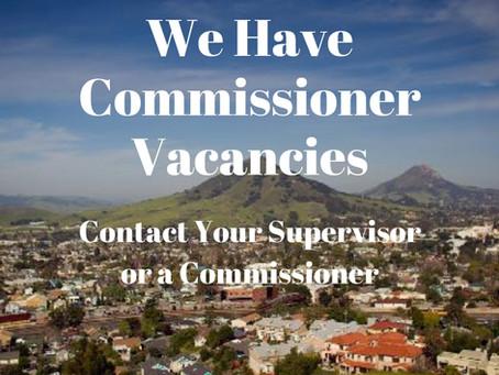 We have vacancies