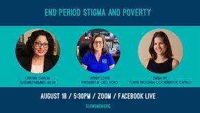 End Period Stigma and Poverty