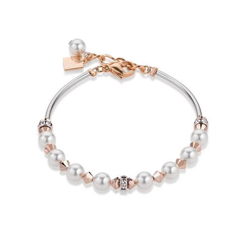 Bracelet Cœur de Lion cristaux de Swarovski, perles.