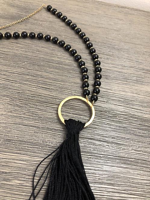 Black Onyx Modified Mala