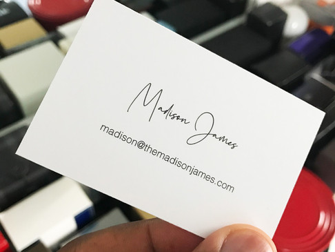 The Orgasmic Business Card