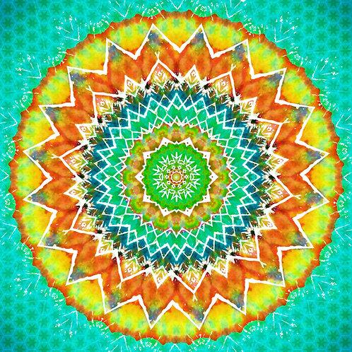Shaman Mandala Greeting Card