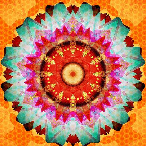 Magic Mandala Greeting Card