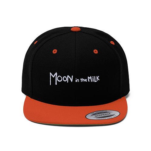 Moon In The Milk -  Flat Bill Hat