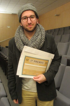 First prize for the work 'BUMM'