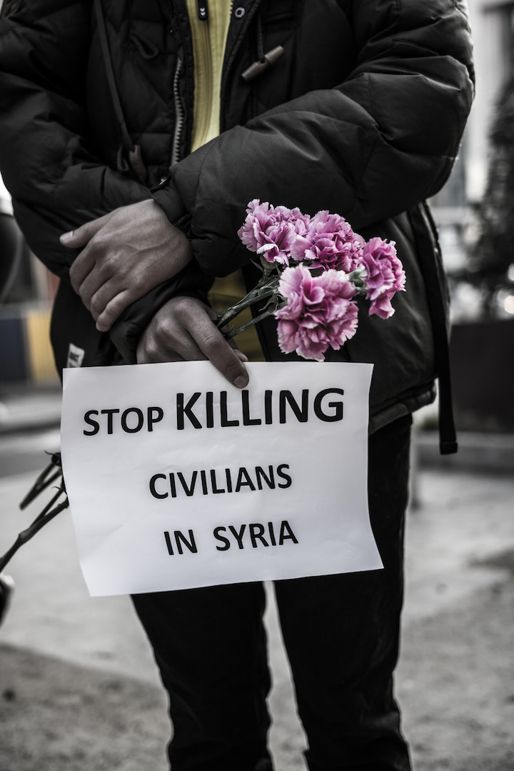 Syria protest, event photography