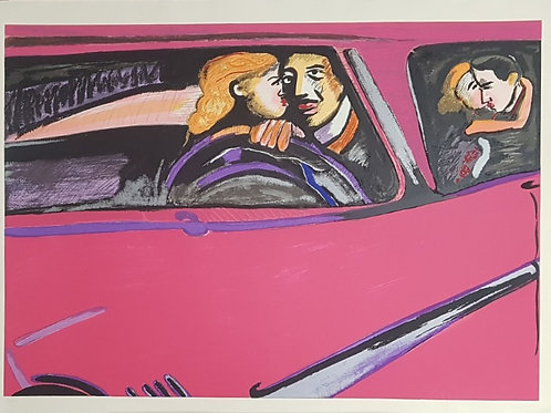 Rubens Gerchman - Beijo no Carro - Parcele em até 10x  no Cartão