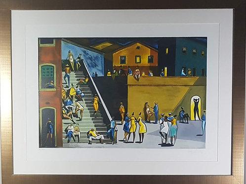 Carybé - Escadaria - 10x R$270,00 no Cartão