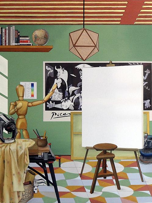 Antonio Peticov - A Arte da Pintura - condições sob consulta