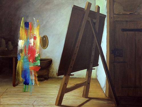 Antonio Peticov - O Pintor Holandês - preço sob consulta
