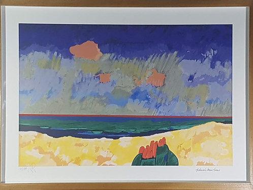 Aldemir Martins - Colorida Marina - Parcele em até 10 x no Cartão