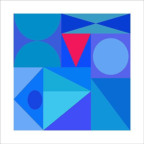 Antonio Peticov - Blue - 10x de R$220,00 no Cartão