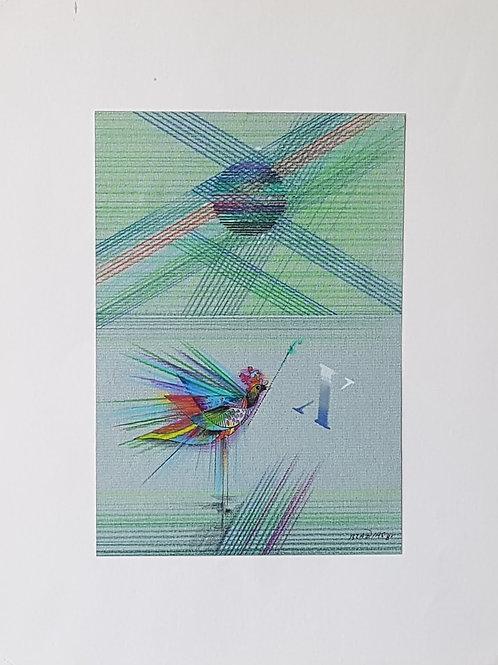 Braz Dias - Pássaro I-  10 x R$ 40,00 no Cartão