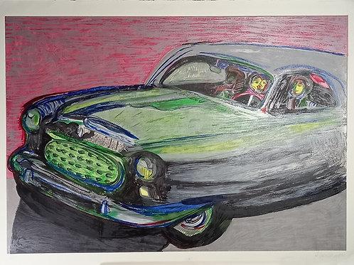 Rubens Gerchman - Beijo no Carro II - Parcele em até 10x  no Cartão