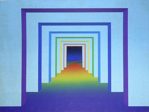Antonio Peticov - The Seven Doors - 10x de R$220,00 no Cartão