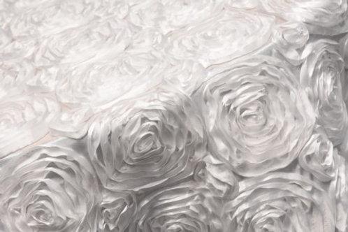 Specialty White Rosette