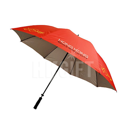 "30"" Single Layer Golf Umbrella with UV Coating"