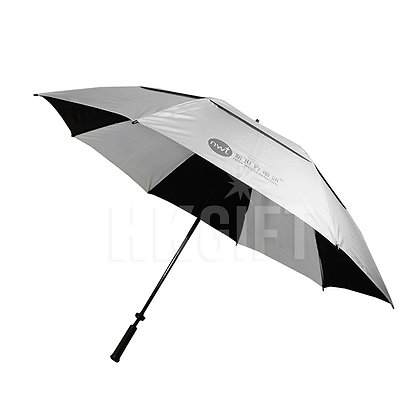 "32"" Double Layers Golf Umbrella with UV Coating"