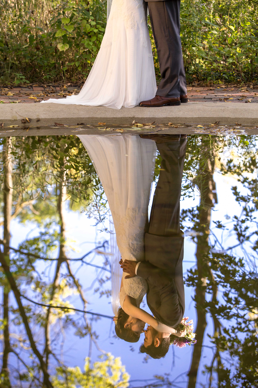 Bride & Groom Reflecting Pool