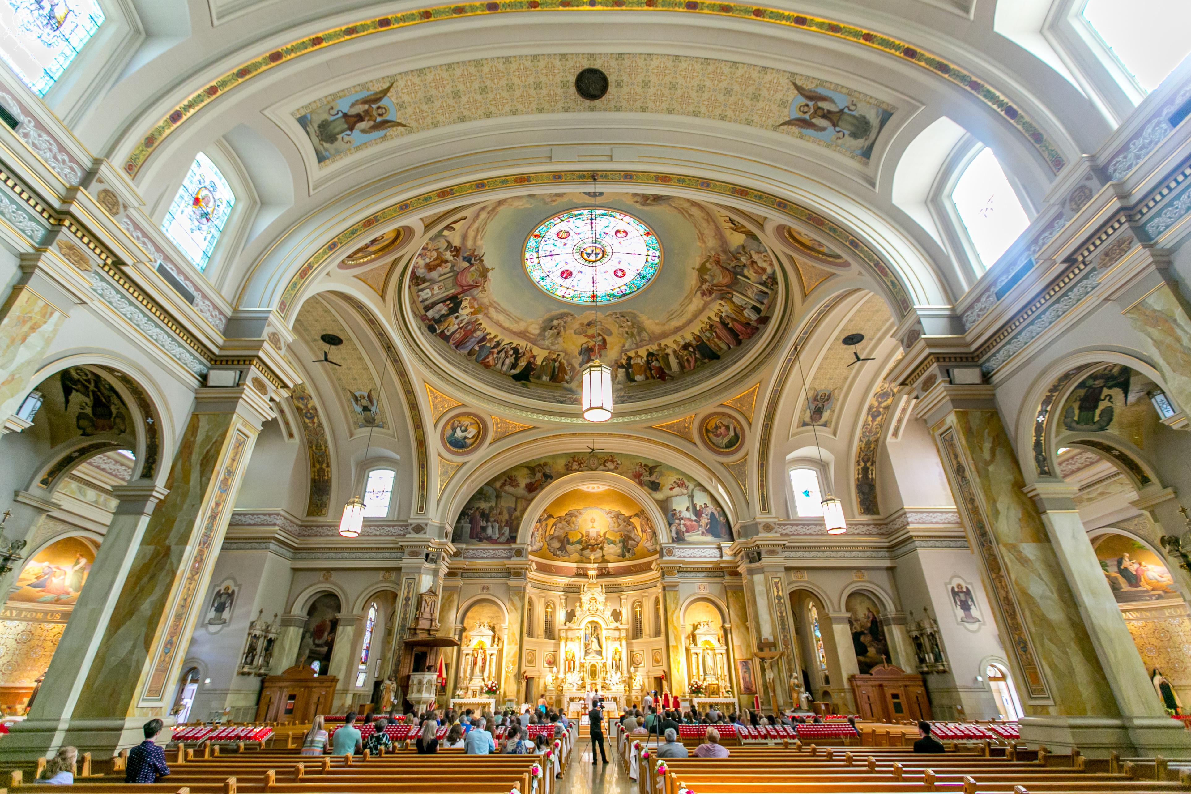 St Hyacinth Basilica Wedding