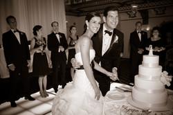 Wedding Reception: Cutting the Cake